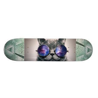 plate-forme de planche à roulettes de chat plateau de skate