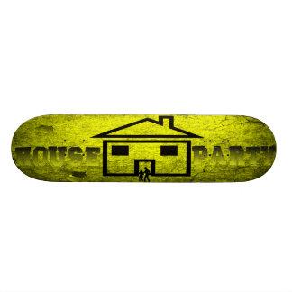 PLATE-FORME de PLANCHE À ROULETTES de PARTIE de Ch Plateau De Skateboard