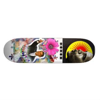 Plate-forme de planche à roulettes de Verseau d'Ob Skateboards Customisés