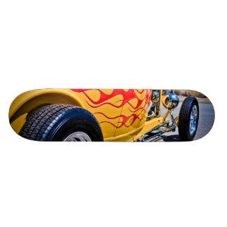 Plate-forme de travail de flamme du hot rod 6 skateboard