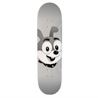 Plate-forme d'oncle Bunny™ Brand Grey Skateboard