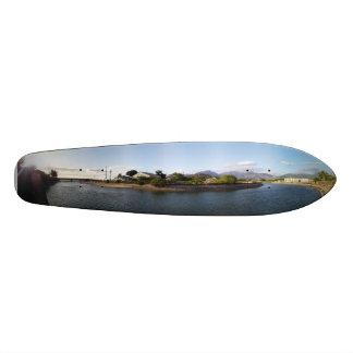 Plate-forme hawaïenne de cieux plateaux de skate