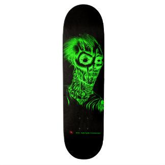 Plate-forme necro-verte de planche à roulettes de  skateboards cutomisables