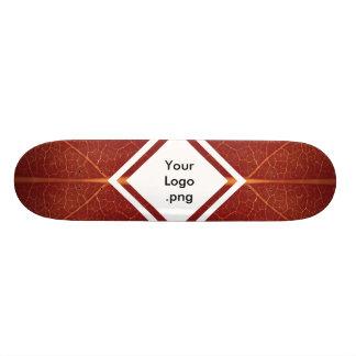 Plate-forme réelle/personnalisable de feuille skateboard 21,6 cm