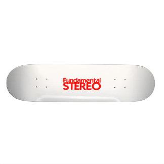 Plate-forme stéréo fondamentale de planche à roule planche à roulette customisée
