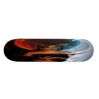 plate-forme vilaine ou gentille de planche à roule skateboard