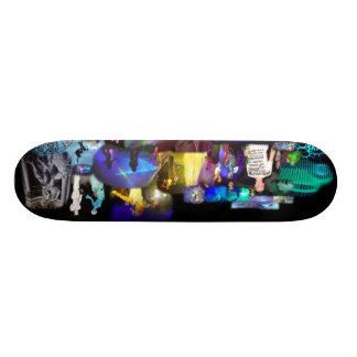 Plate-formes de planche à roulettes de collage de  skateboards customisés