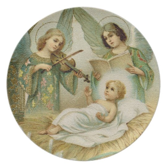 Plate: Gloria in Excelsis Deo Plate