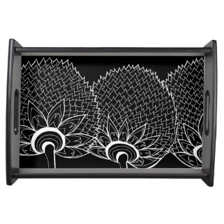 Plate GraphiZen thistle Food Tray
