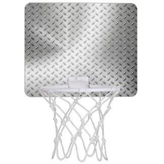 Plate iron mini basketball hoop