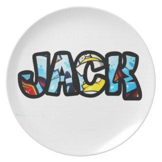Plate Jack melanin