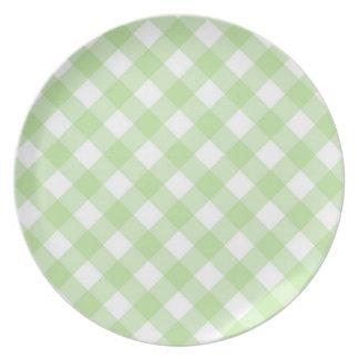 Plate - Lattice for Lemony White Zinnia