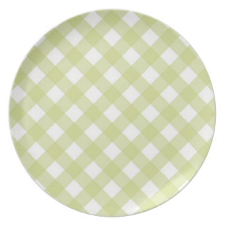 Plate - Lattice for White Zinnia