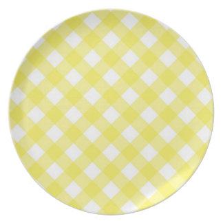 Plate - Lattice for Yellow Zinnia