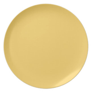 PLATE Light Yellow, Sets by Design, Melamine