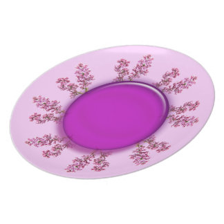 Plate - Lilac Ring