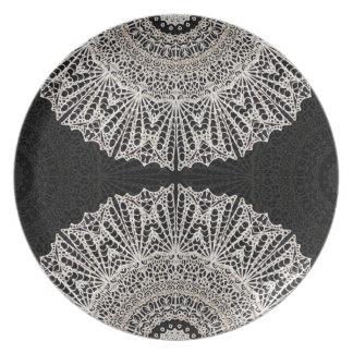 Plate Mandala Mehndi Style G384