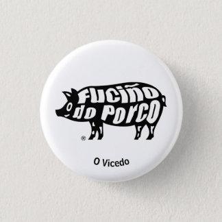 Plate memory Or fuciño do Porco - km 0 1 Inch Round Button