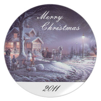 Plate: Merry Christmas 2011 Plate