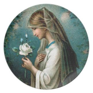 Plate: Mystical Rose Plates