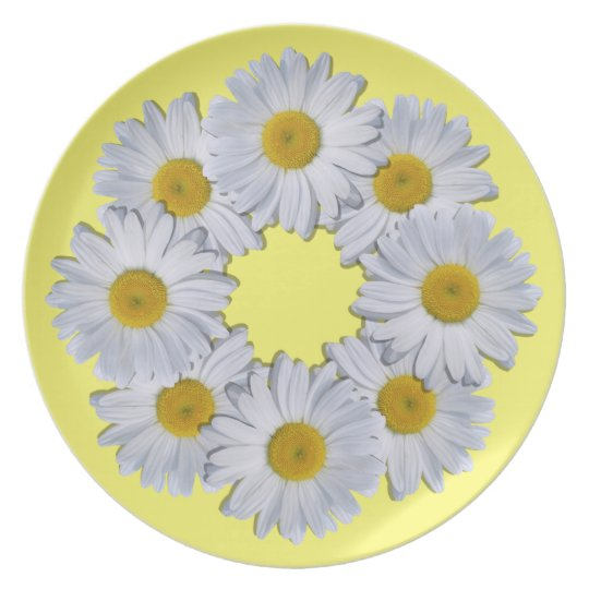 Plate - New Daisies on Yellow