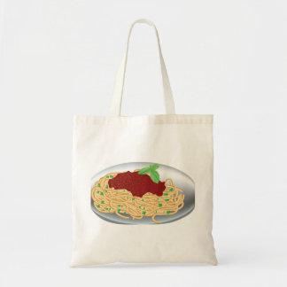 Plate Of Spaghetti Tote Bag