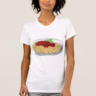 Plate Of Spaghetti Womens T-Shirt