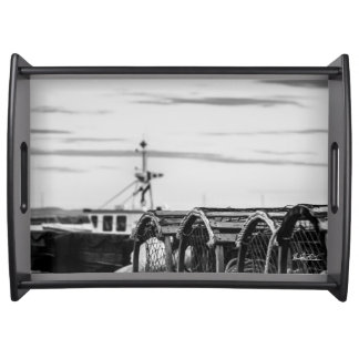 plate photo fishing vessel serving tray