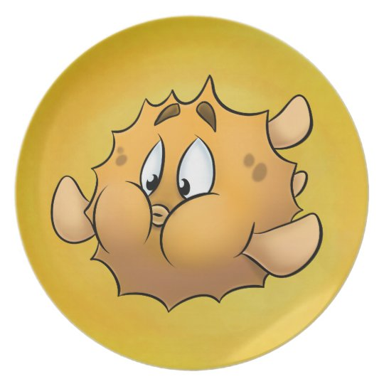 Plate - Puff the Blowfish