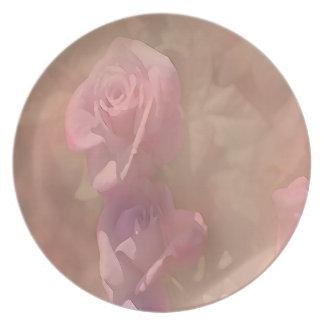 Plate: Rose Design Plate ©2016CAT