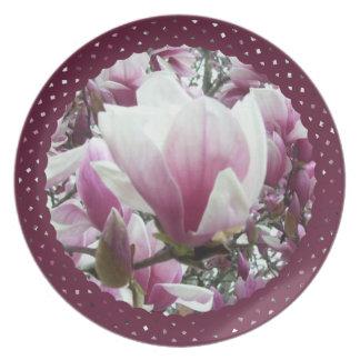Plate - Saucer Magnolia