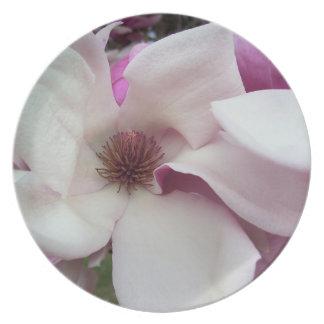 Plate - Saucer Magnolia Bloom