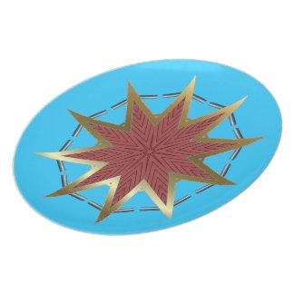 Plate Star Sky