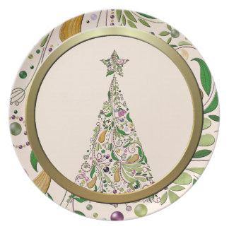 Plate - Tuscany Tree Two