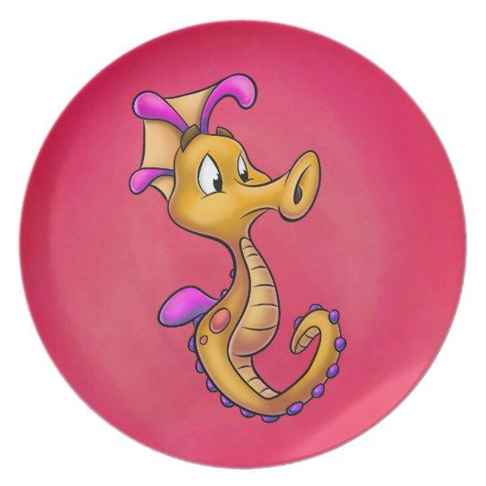 Plate - Yo-Yo the Seahorse
