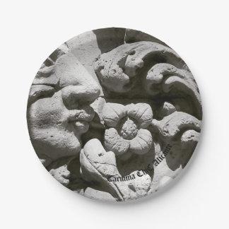 Plates of paper Alicante stone