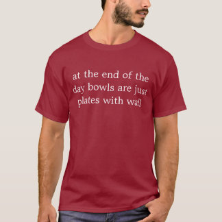 plates with walls T-Shirt