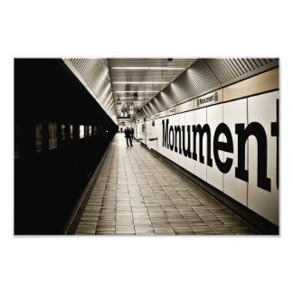 platform photographic print