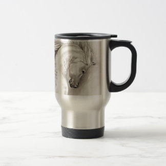 Platinum arabian travel mug