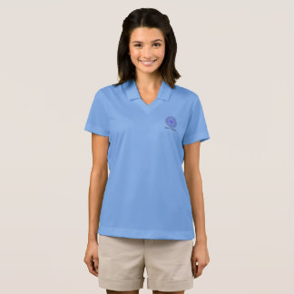 Platinum Atom Science is for Girls Polo Shirt