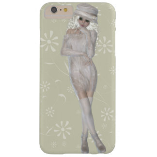 Platinum Blond Girl iPhone 6/6s Plus, Barely There Barely There iPhone 6 Plus Case