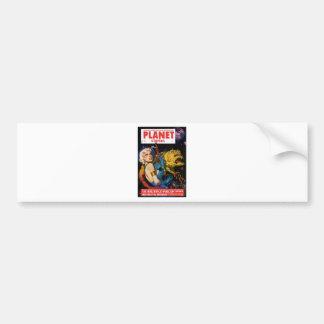 Platinum Blonde and her Monster Friend Bumper Sticker