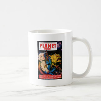 Platinum Blonde and her Monster Friend Coffee Mug