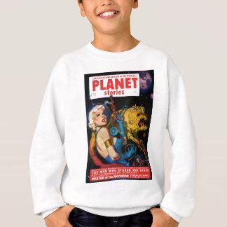 Platinum Blonde and her Monster Friend Sweatshirt