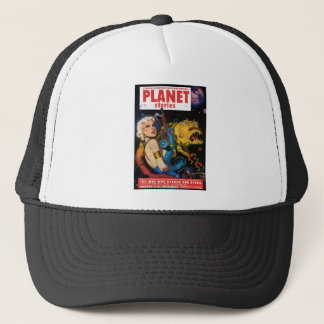 Platinum Blonde and her Monster Friend Trucker Hat