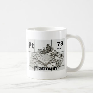 platinum coffee mug