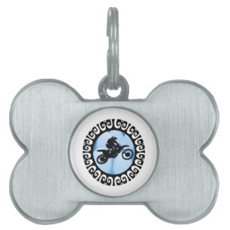 Platinum Height Pet ID Tag