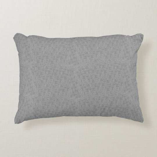 Platinum Texture Decorative Designer Accent Pillow