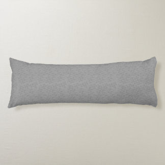 Platinum Textured Decorative Designer Body Pillows