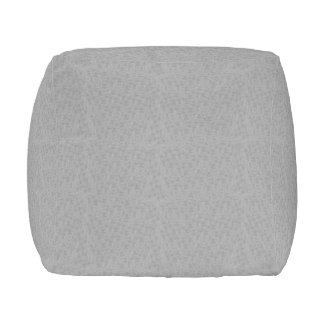 Platinum Textured Decorative Designer Cube Pillows